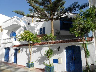 Vue ext�rieure de la location Location Villa 11240 Port El Kantaoui