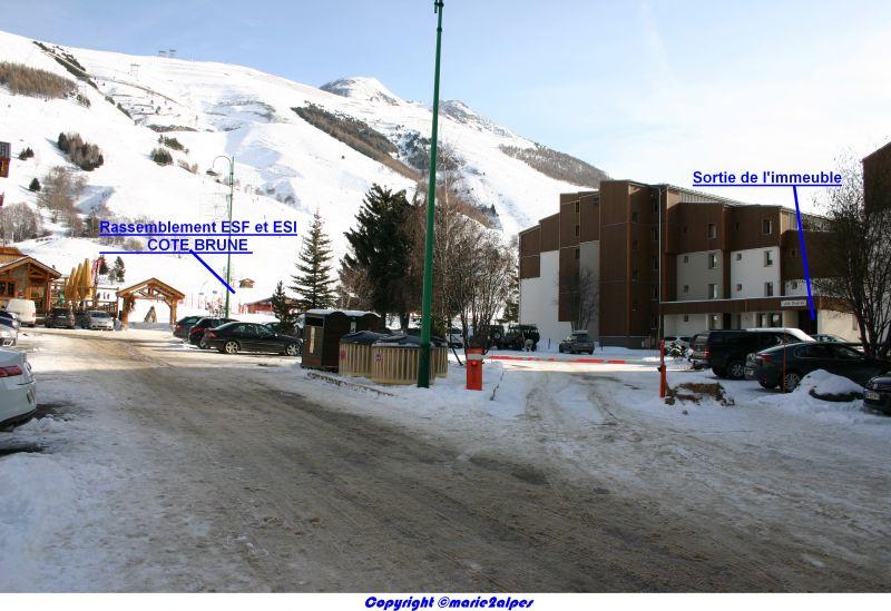 Vue à proximité Location Appartement 1134 Les 2 Alpes