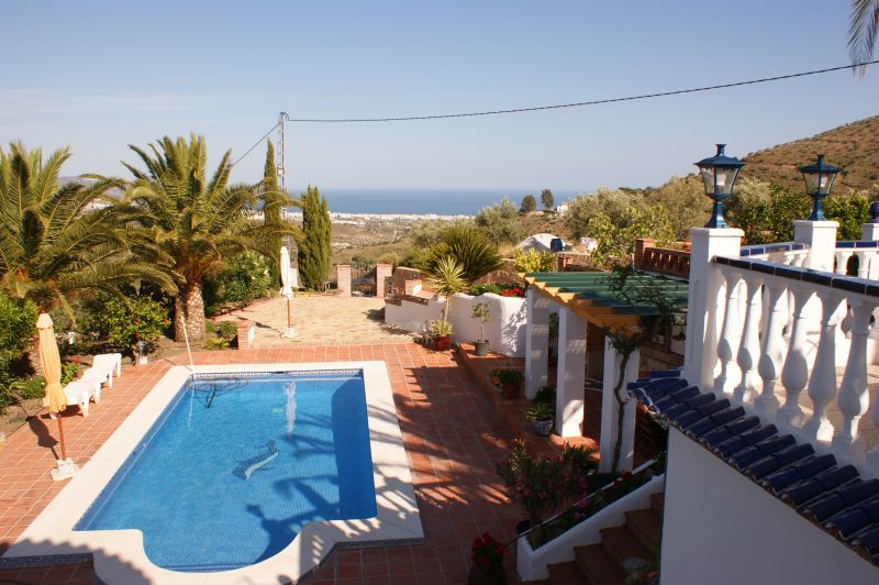 Vue de la terrasse Location Villa 11479 Nerja