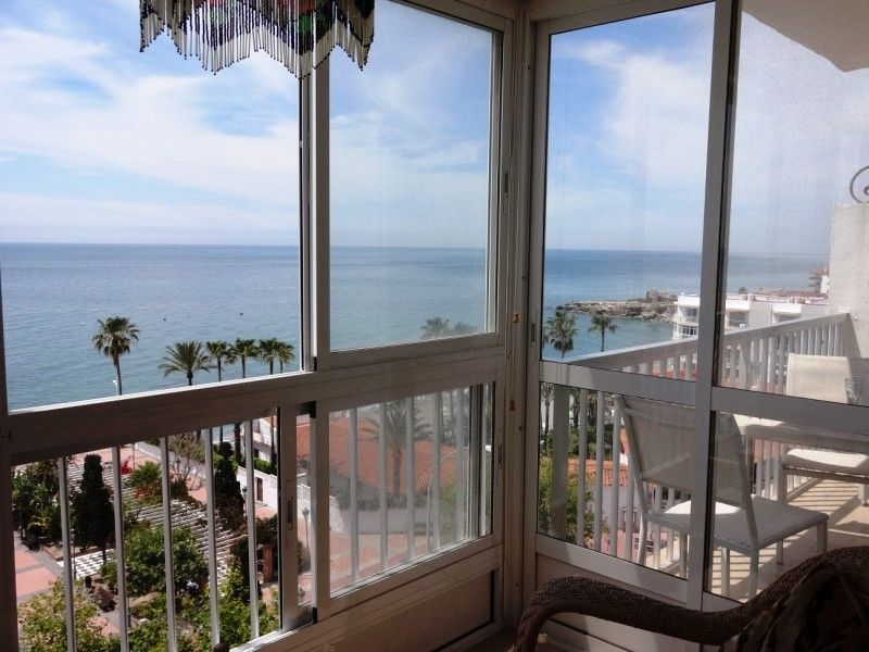 Vue du balcon Location Appartement 11482 Nerja