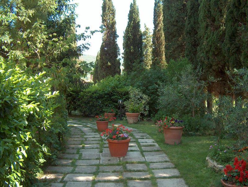 Jardin Location Villa 11865 Arezzo