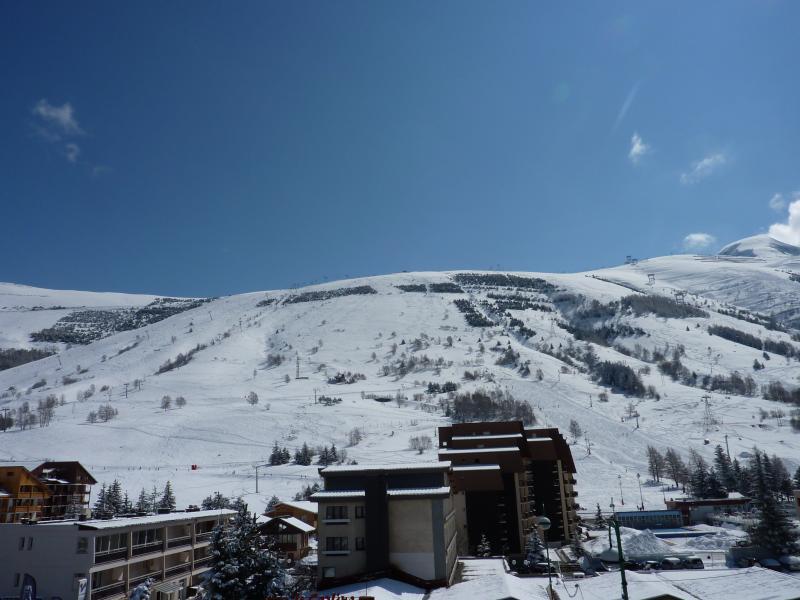 Vue du balcon Location Studio 1201 Les 2 Alpes