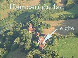 Vue ext�rieure de la location Location Gite 12203 Villefranche de Rouergue