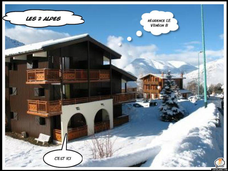 Location Appartement 1242 Les 2 Alpes