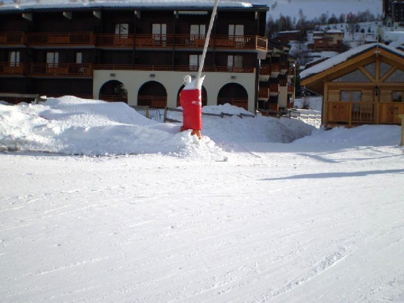 Vue extérieure de la location Location Appartement 1242 Les 2 Alpes