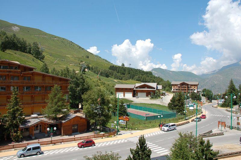 Vue depuis la location Location Appartement 1260 Les 2 Alpes