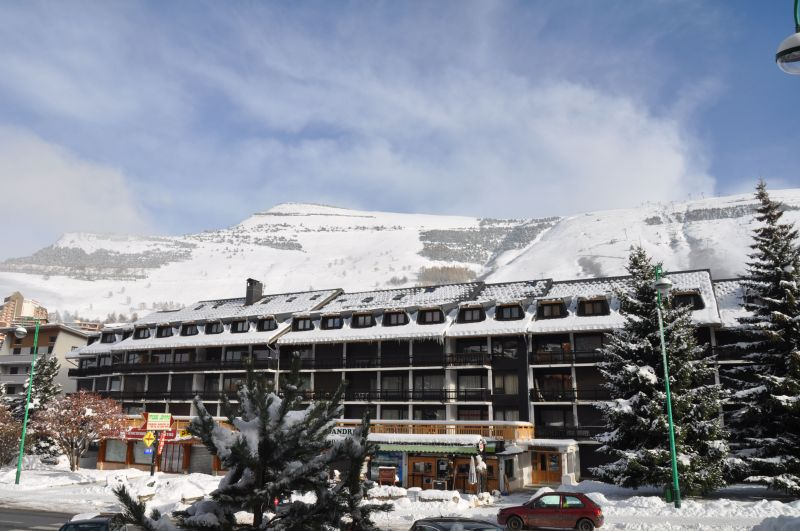 Vue extérieure de la location Location Appartement 1260 Les 2 Alpes