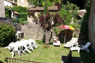 Jardin Location Gite 12987 Millau