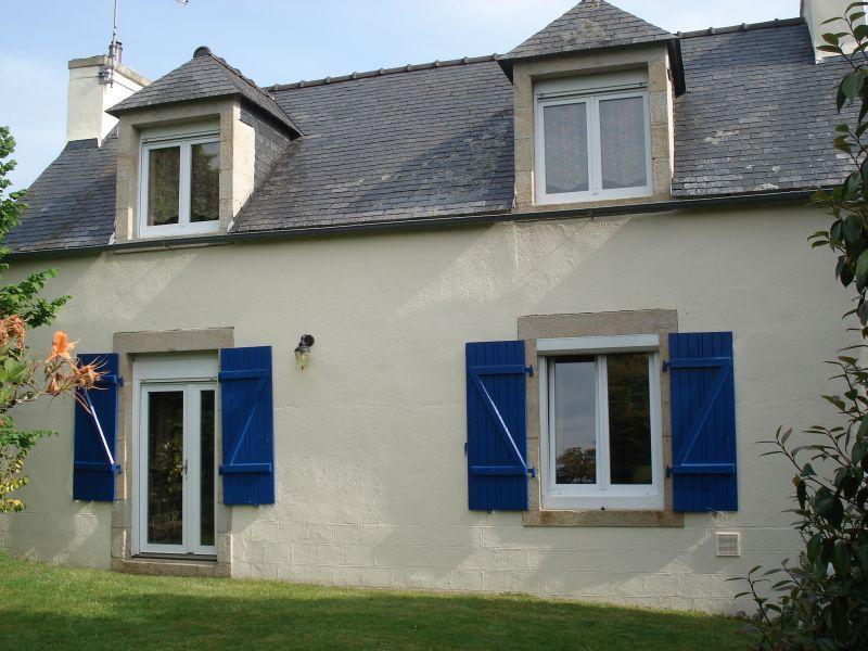 Vue extérieure de la location Location Maison 13138 Douarnenez