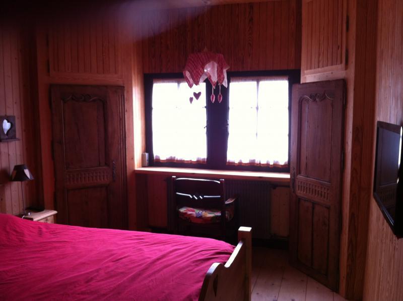 chambre 1 Location Chalet 1350 Les Gets