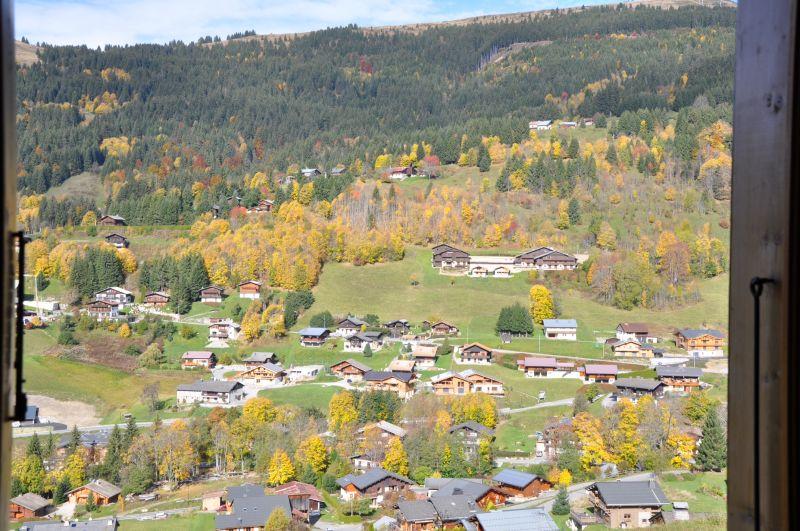 Vue depuis la location Location Chalet 1357 Les Gets