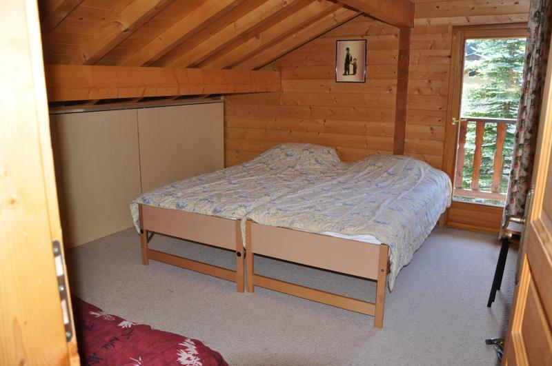 chambre 2 Location Chalet 1357 Les Gets