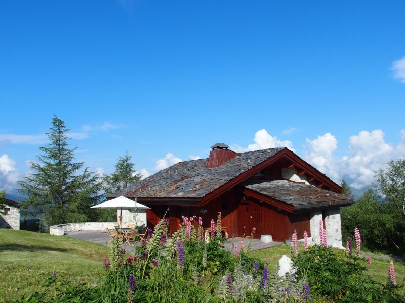 Vue extérieure de la location Location Chalet 136 Les Arcs