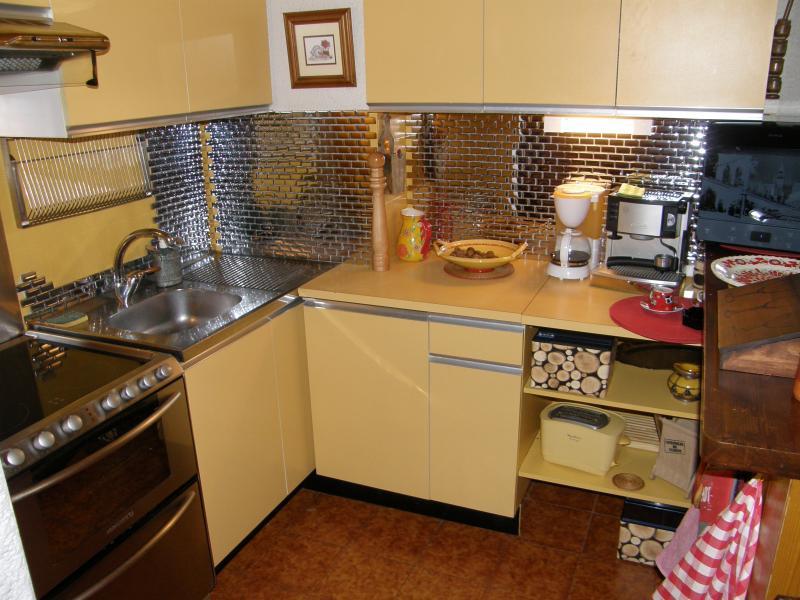 Cuisine d'été Location Appartement 1360 Le Grand Bornand