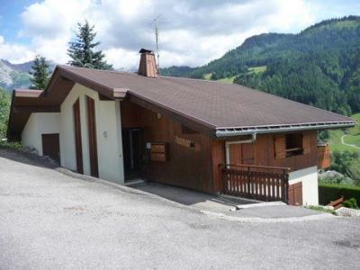 Vue extérieure de la location Location Studio 1367 Le Grand Bornand