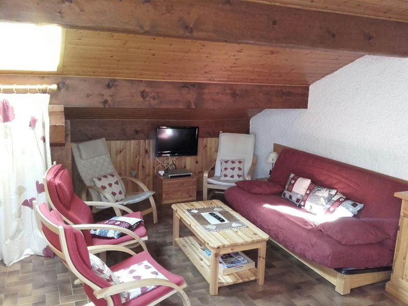 Salon Location Appartement 1370 Le Grand Bornand