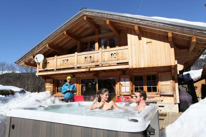 Terrasse Location Chalet 1412 Chamonix Mont-Blanc