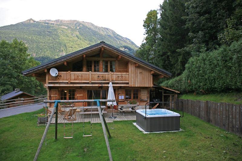 Jardin Location Chalet 1412 Chamonix Mont-Blanc