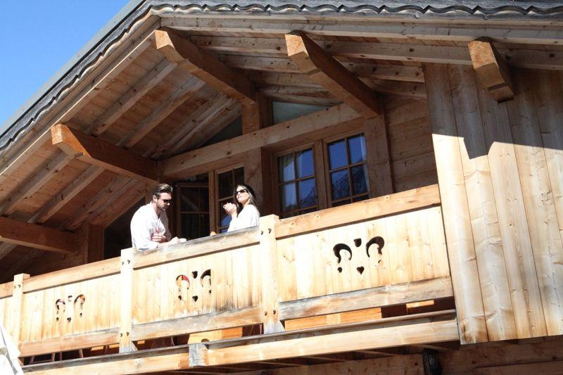 Balcon Location Chalet 1412 Chamonix Mont-Blanc