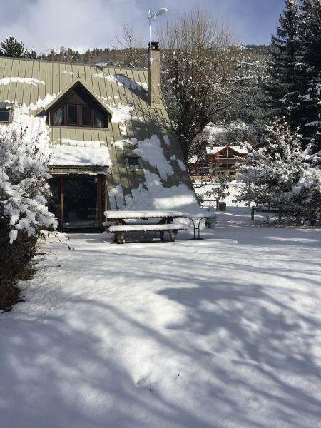 Vue extérieure de la location Location Chalet 14631 Serre Chevalier