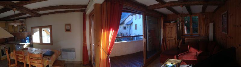 Vue du balcon Location Appartement 14750 Serre Chevalier