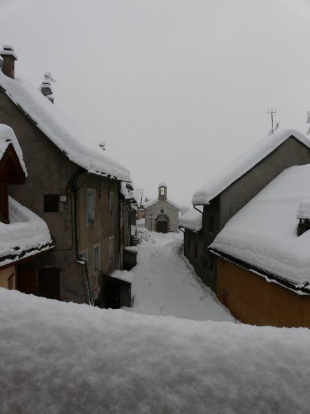 Vue depuis la location Location Appartement 14750 Serre Chevalier