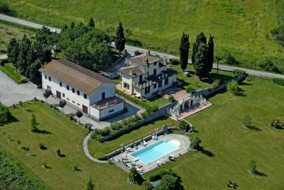 Vue ext�rieure de la location Location Gite 14779 Cortona