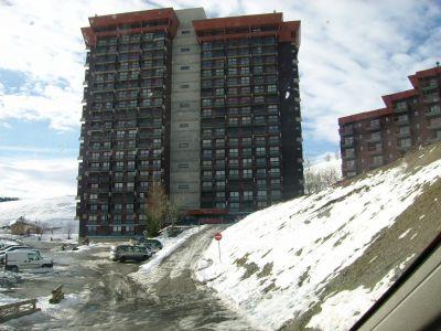 Vue ext�rieure de la location Location Appartement 14825 Le Corbier