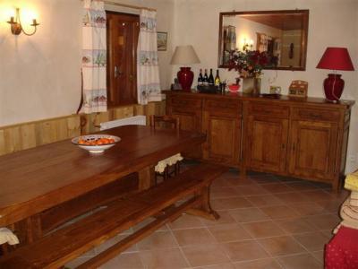 Salle à manger Location Chalet 14951 Courchevel