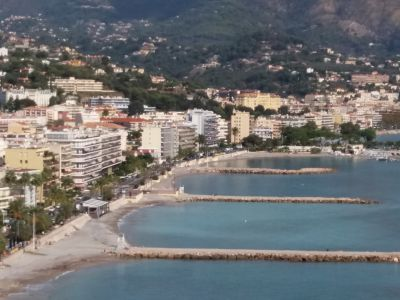 Vue à proximité Location Studio 15061 Roquebrune Cap Martin