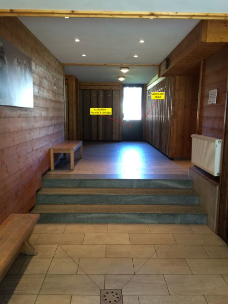 Entrée Location Studio 15132 Tignes
