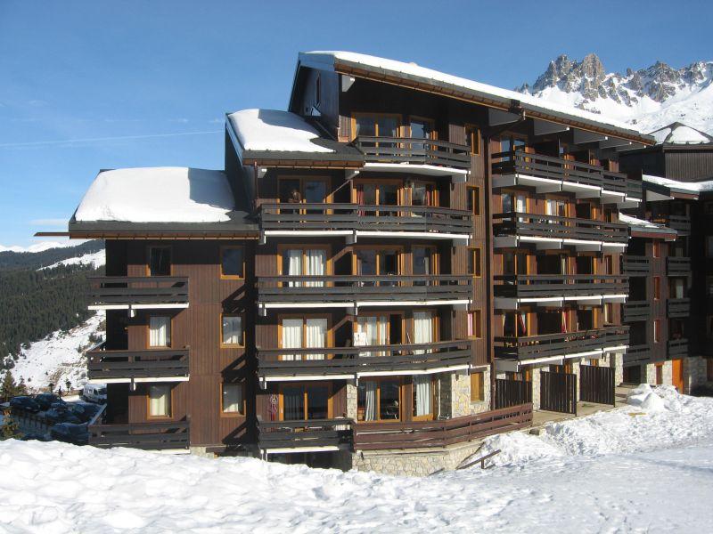 Vue extérieure de la location Location Appartement 15232 Méribel