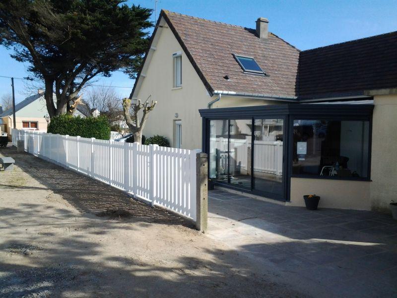 Vue extérieure de la location Location Villa 15234 Agon-Coutainville