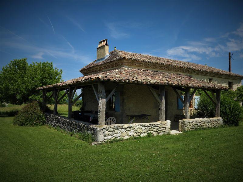 Terrasse Location Maison 15380 Monpazier