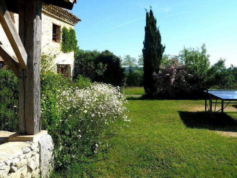 Vue de la terrasse Location Maison 15380 Monpazier