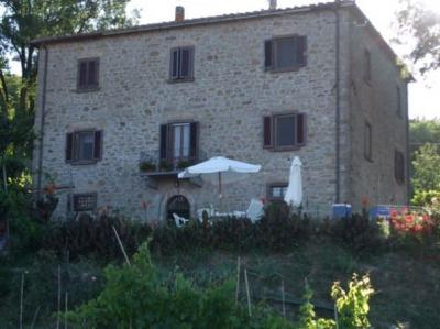 Vue ext�rieure de la location Location Appartement 15494 Volterra