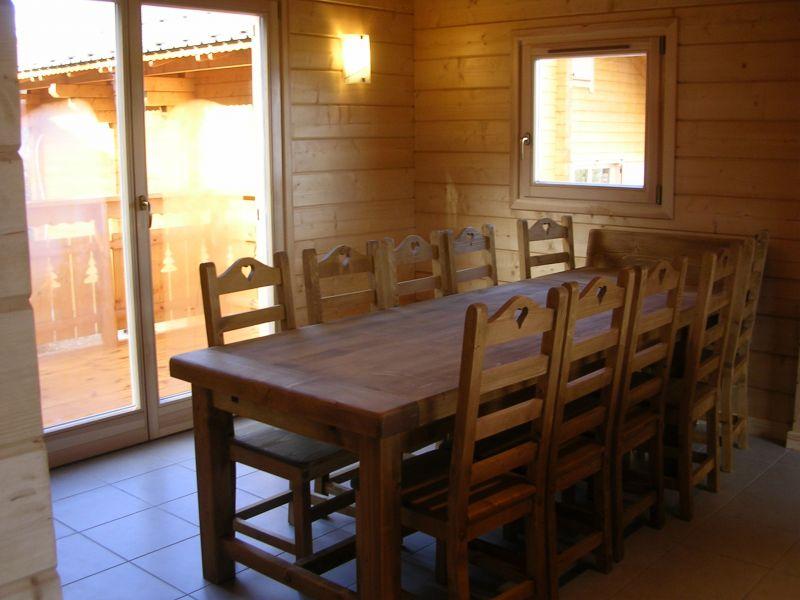 Salle à manger Location Chalet 1555 Superdévoluy- La Joue du Loup