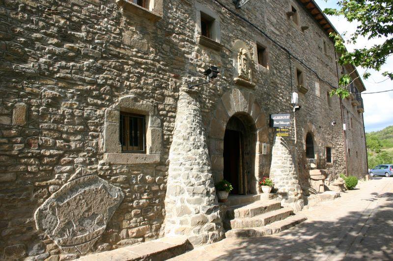 Vue extérieure de la location Location Gite 15760 Aínsa