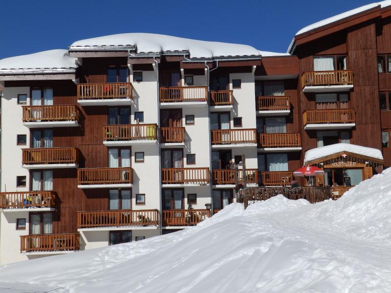 Vue extérieure de la location Location Appartement 15900 La Plagne