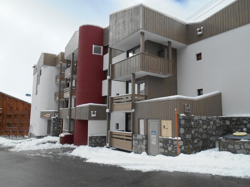 Vue extérieure de la location Location Appartement 15909 Val Thorens