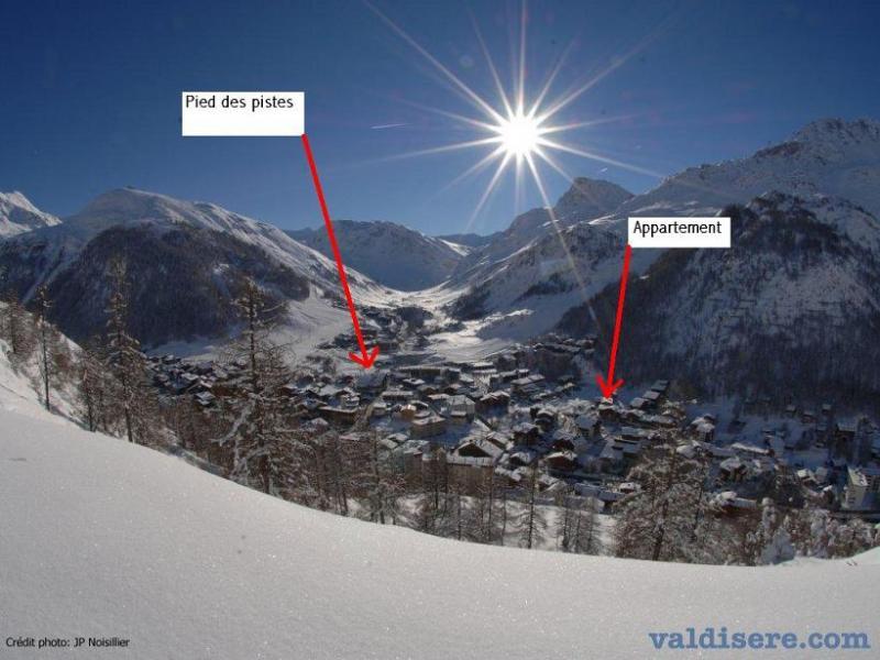 Carte Location Appartement 15997 Val d'Isère