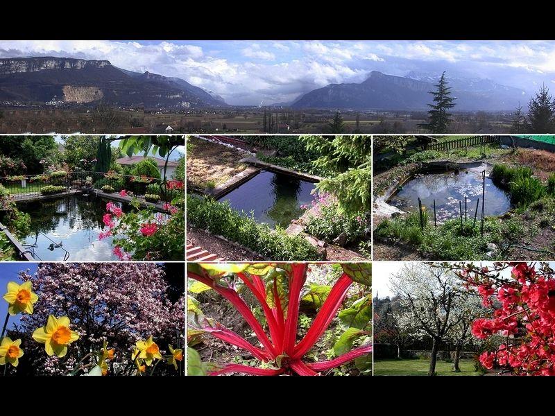 Jardin Location Gite 16078 Grenoble