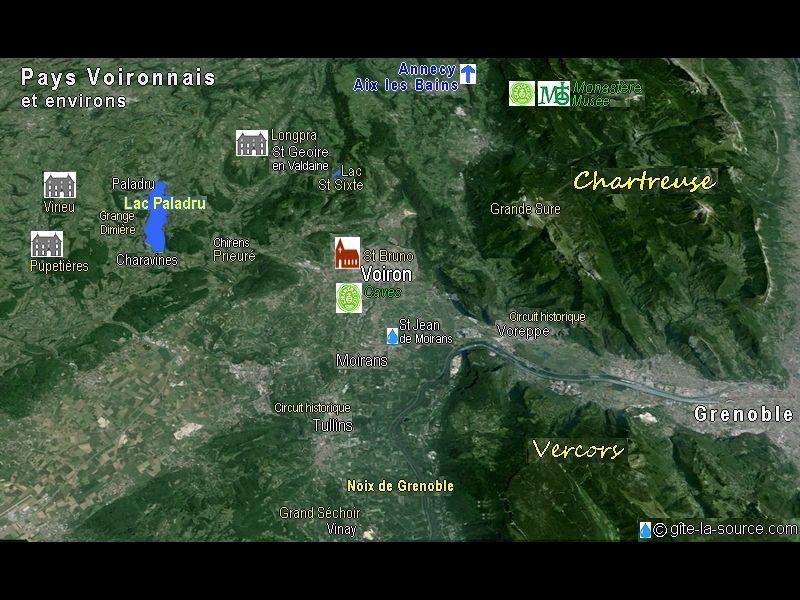 Vue autre Location Gite 16078 Grenoble