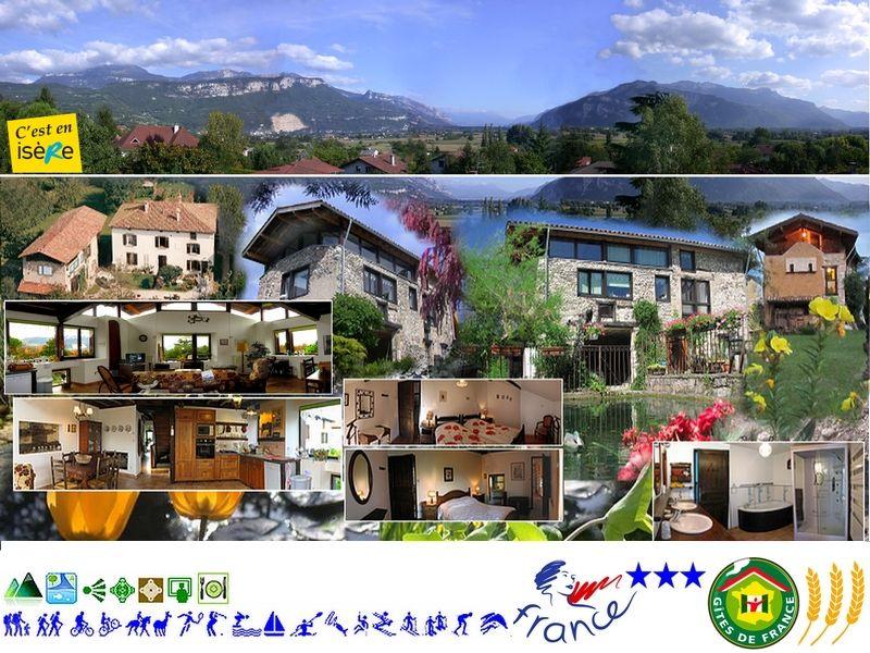Vue extérieure de la location Location Gite 16078 Grenoble
