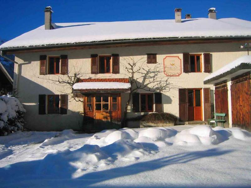 Vue extérieure de la location Location Maison 16107 Les Contamines Montjoie