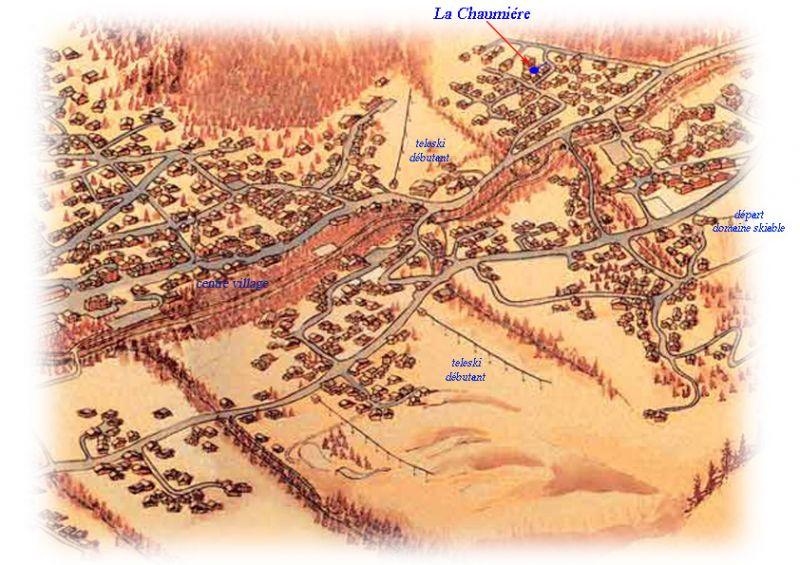 Carte Location Maison 16107 Les Contamines Montjoie