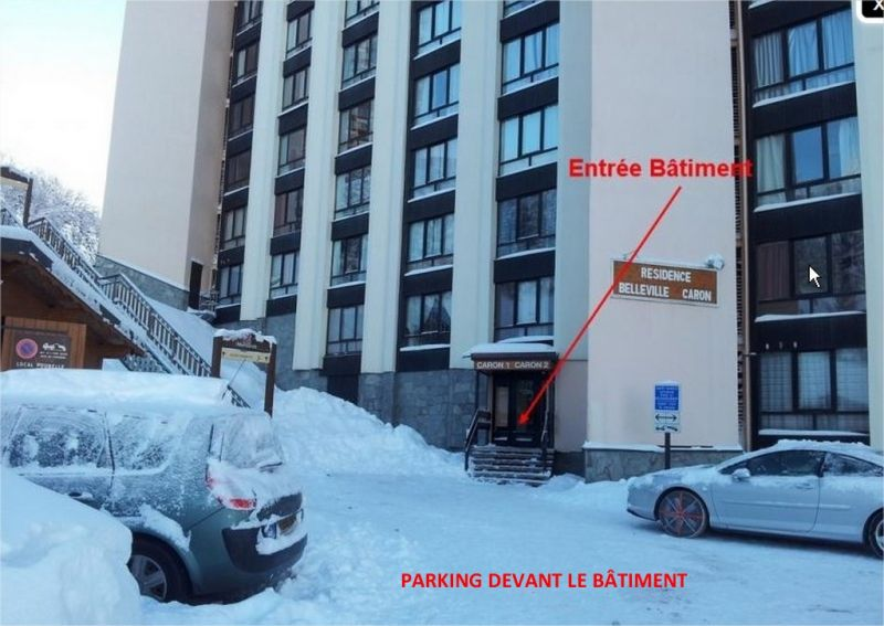 Parking Location Studio 1615 Les Menuires