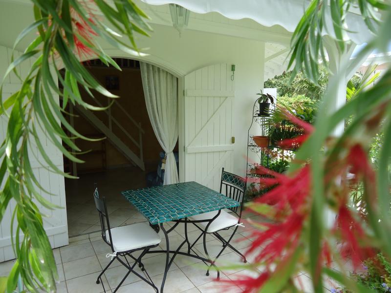 Vue de la terrasse Location Gite 16331 Saint Francois