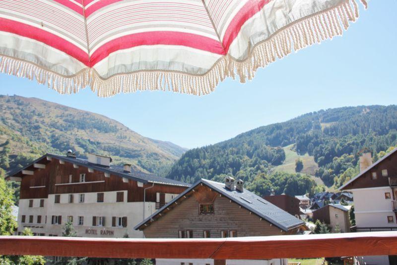 Vue de la terrasse Location Appartement 16351 Valloire