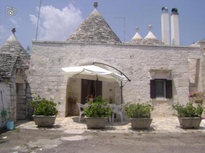 Vue extérieure de la location Location Chalet 16444 Alberobello